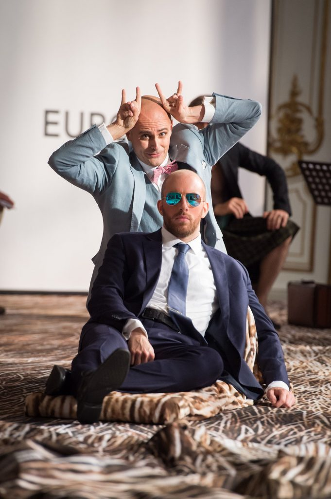 "Amore: ""Cangiato in Toro"" in Melani's L'Europa at the Musikfestspiele Potsdam"